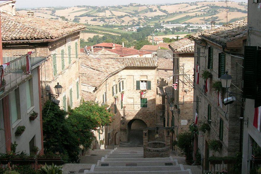 Borgo medievale di Corinaldo