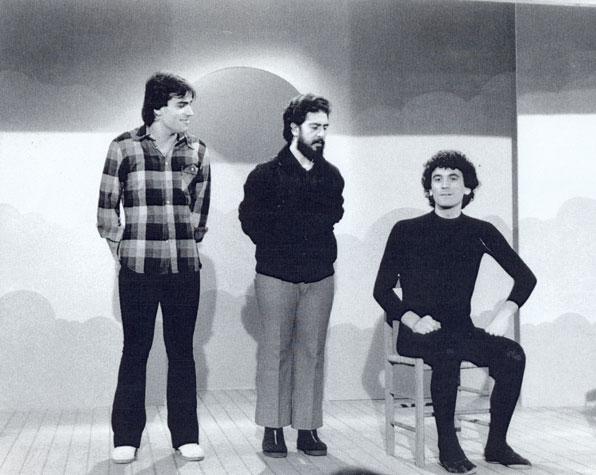 Massimo Troisi e la smorfia su un palcoscenico