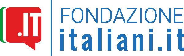 Conflentesi per sempre - logo rosso e azzurro della fondazione di italiani.it
