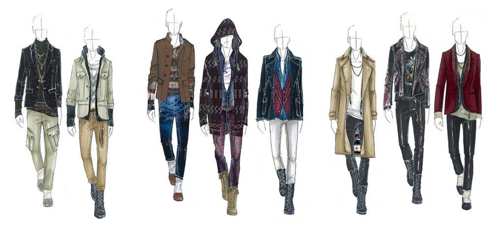 modelli di abiti
