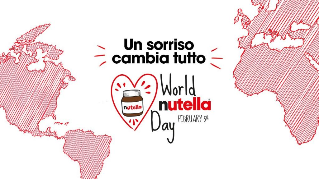 Nutella day, il 5 febbraio