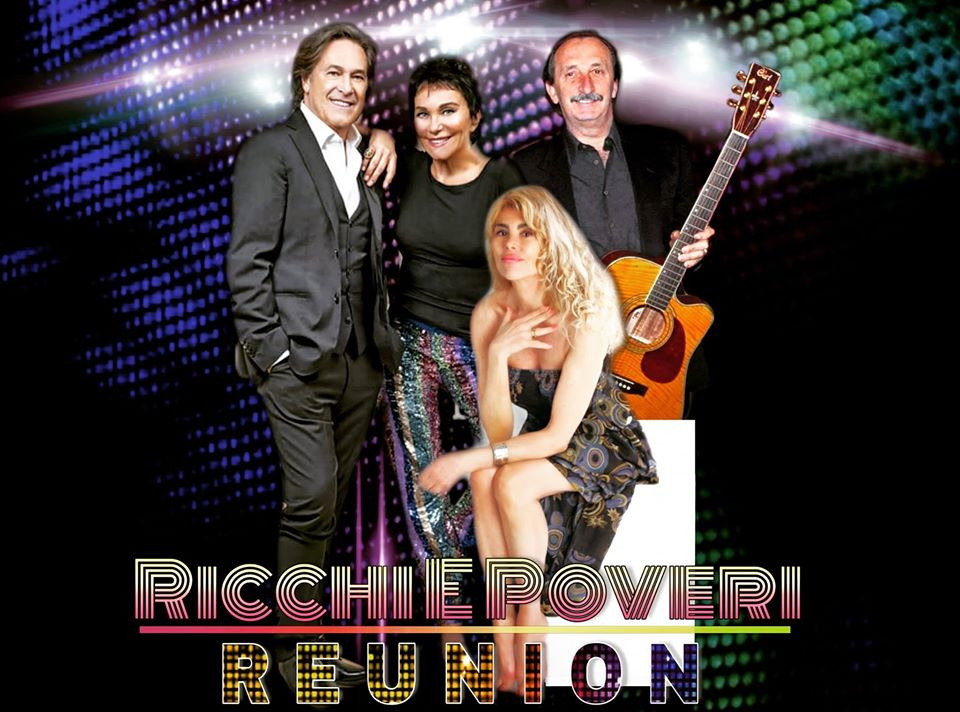 ricchi e poveri reunion at the sanremo festival