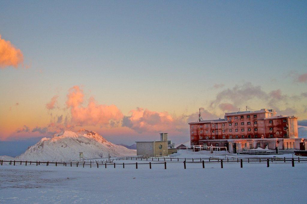 Il rifugio ad alta quota di Campo Imperatore, Abruzzo