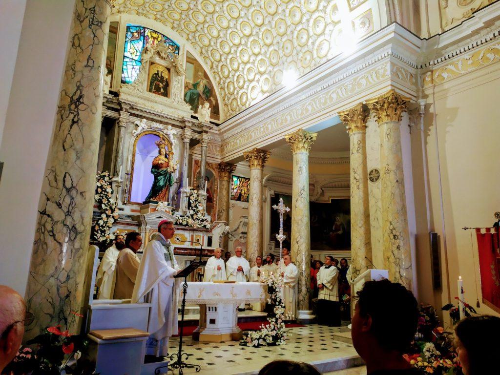 Conflentesi per sempre - interno della chiesa della Madonna di Visora