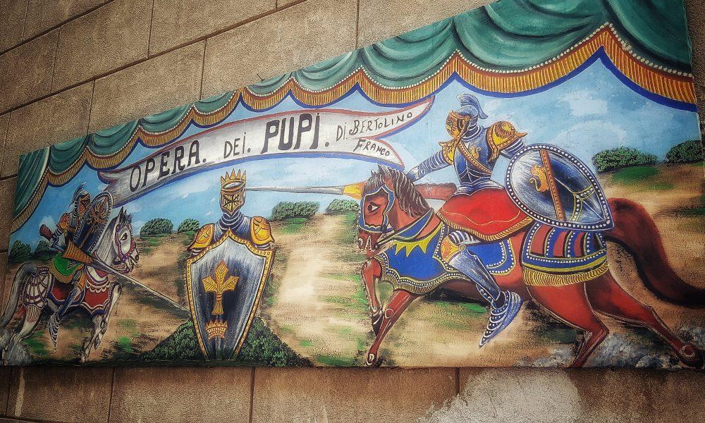 Lo storico teatro dei Pupi siciliani di Cuticchio