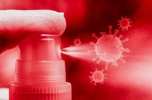Boom di intossicazioni - erogatore disinfettante