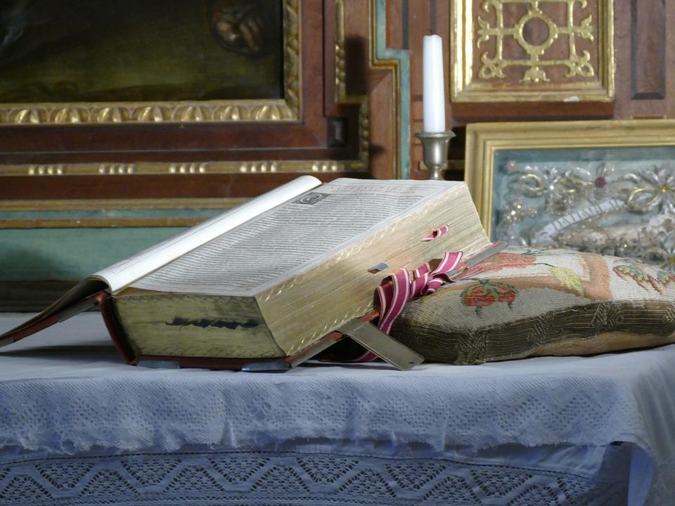 italian church, book