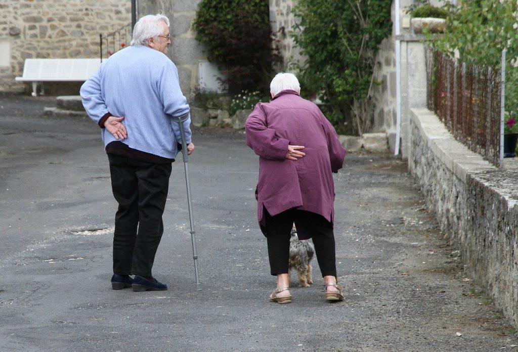 Coronavirus - coppia anziani