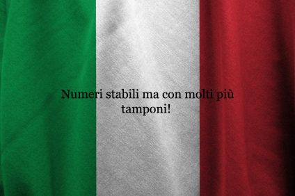 numeri stabili - daily infections are stable