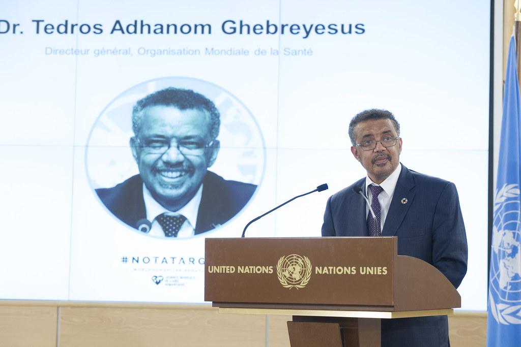 coronavirus - Tedros Adhanom Ghebreyesus (@DrTedros)