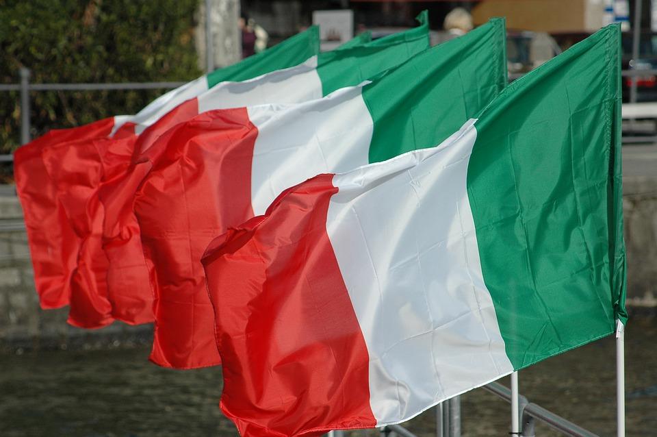 coronavirus - bandiera italiana