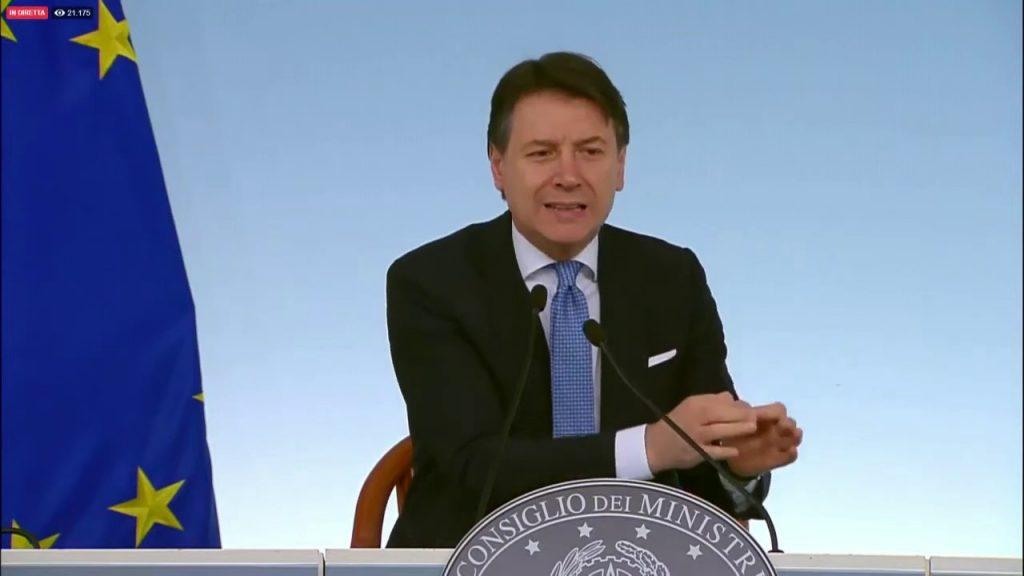 emergenza italia col premier conte