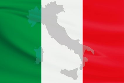 italy is a protected zone: Bandiera italia
