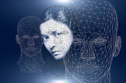 inerzia - immagine di tre visi