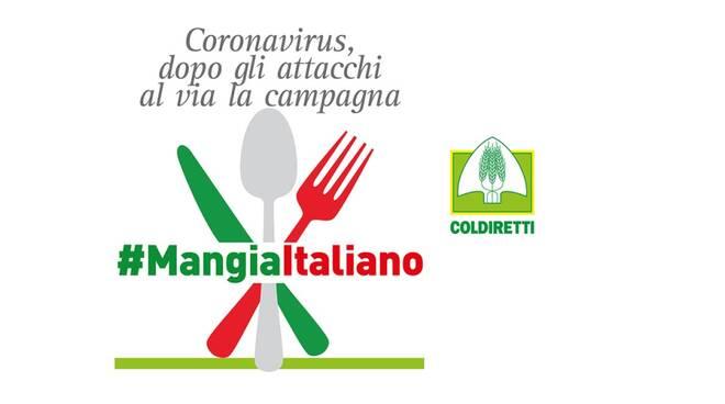 #mangiaitaliano manifesto di coldiretti