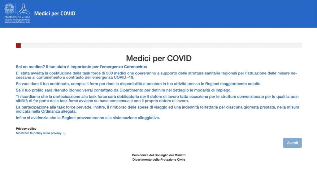 Doctors: Medici - bando medici per covid
