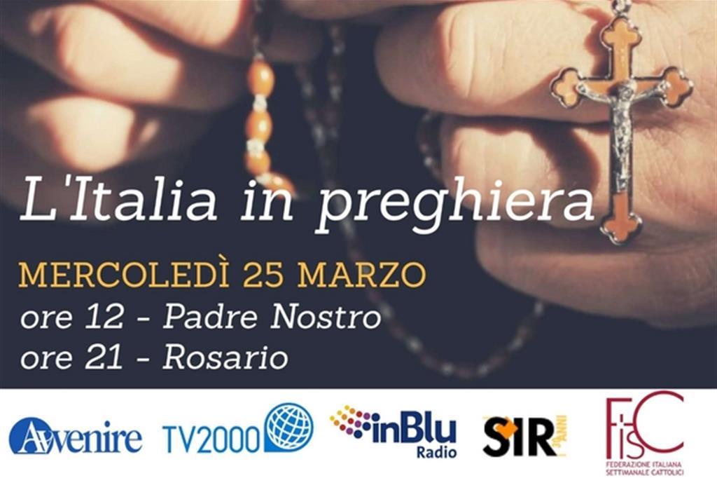 preghiera italia contro la pandemia