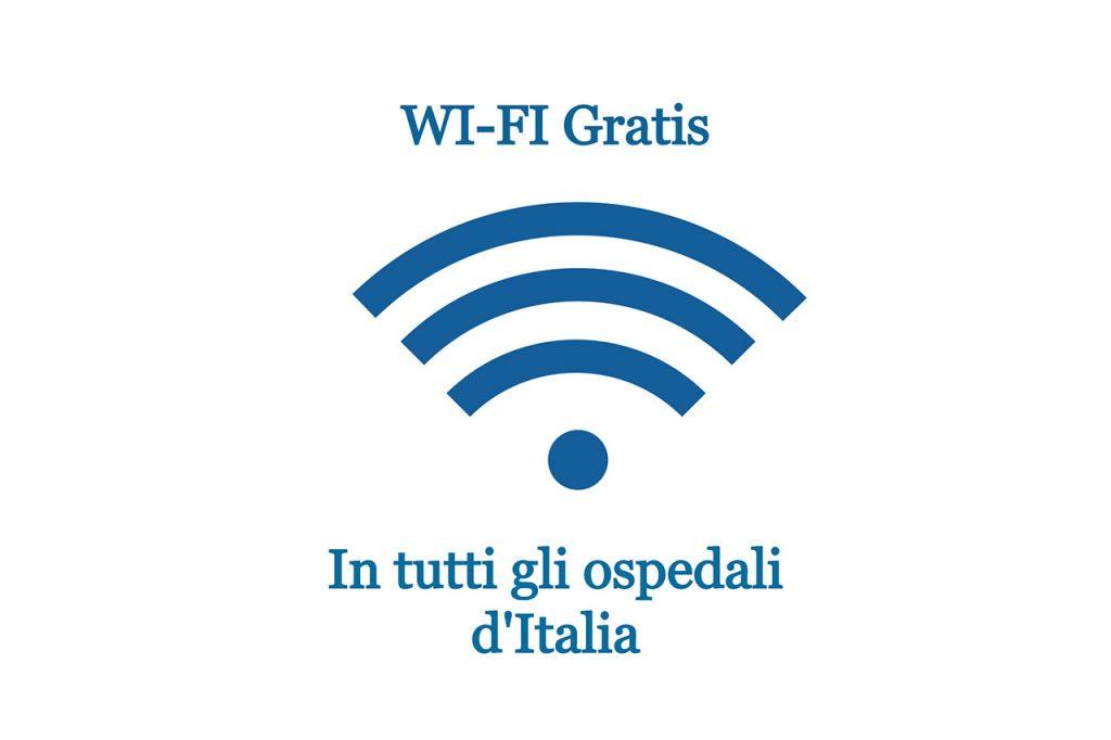 simbolo del WiFi Italia ospedali