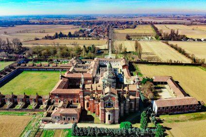 il complesso monastico della Certosa di Pavia