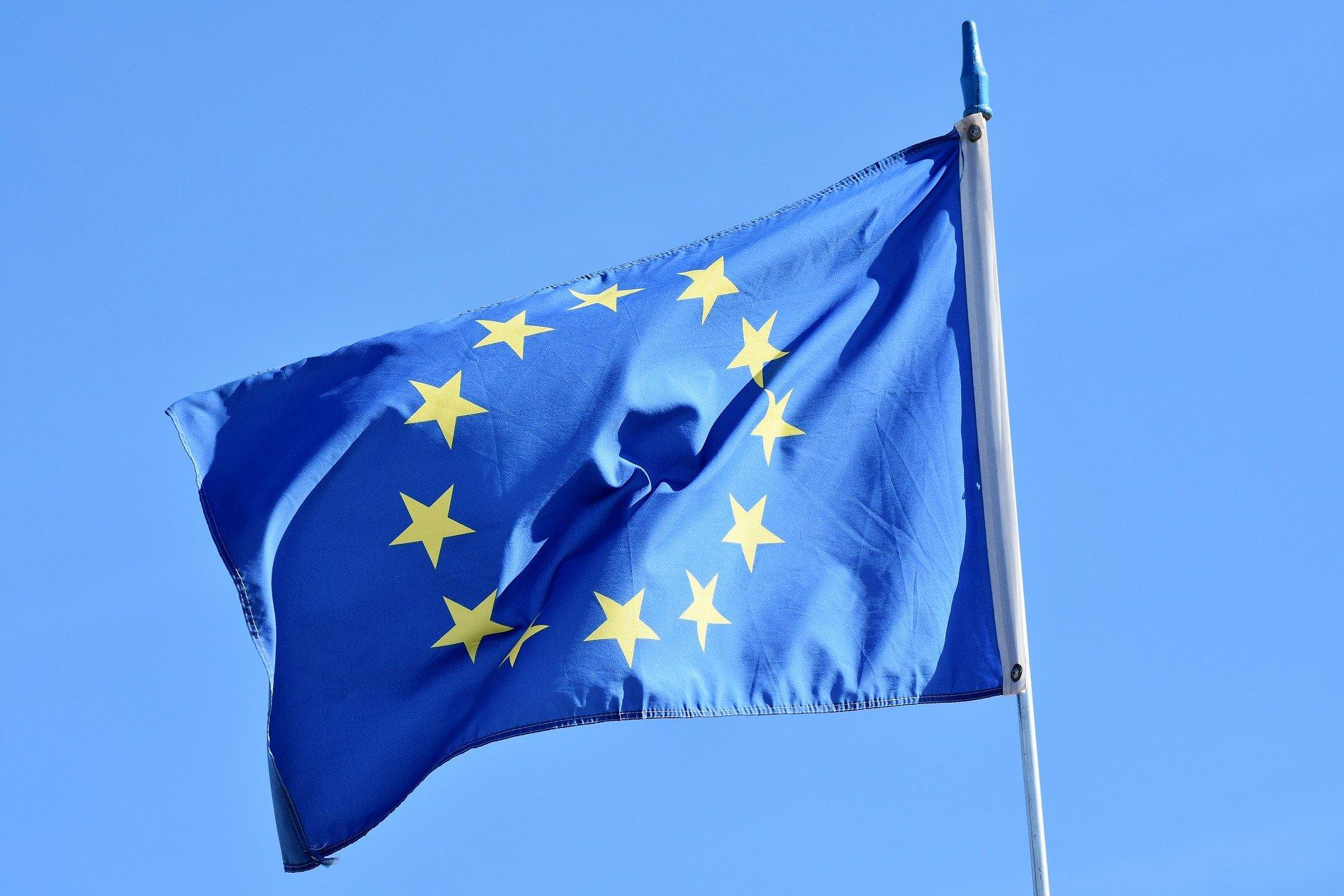 Davide Suverato - bandiera dell unione europea