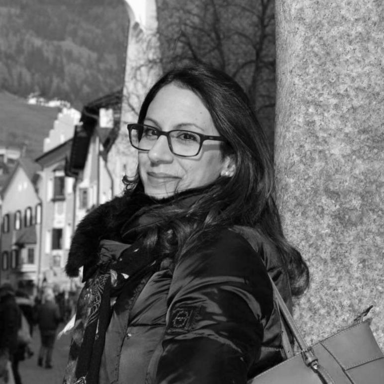foto in bianco e nero di Alessia