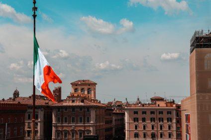 bandiera dell' italia