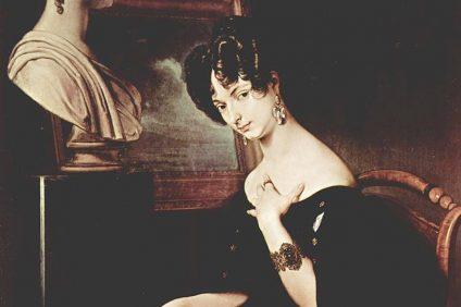donne italiane pioniere - ritratto della principessa di Belgioioso