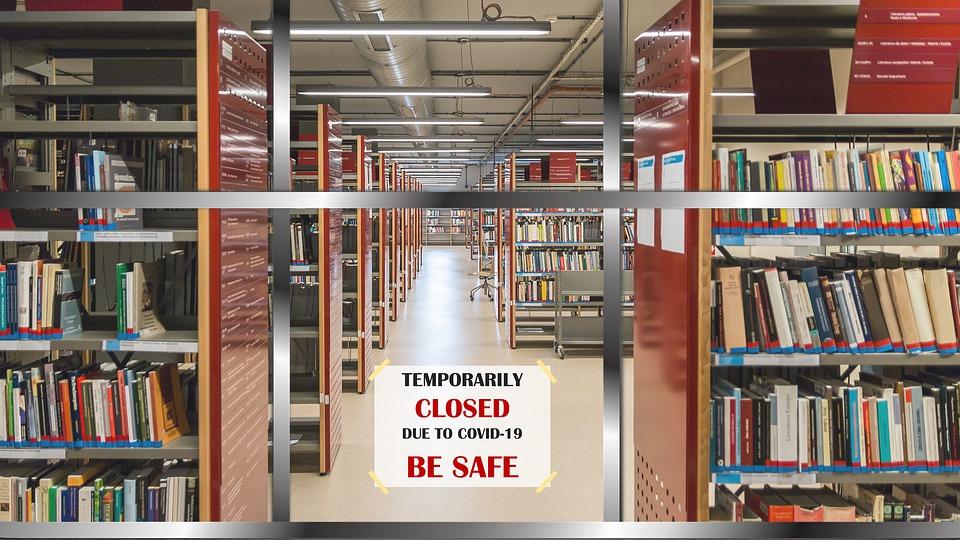 lockdown - La chiusura delle librerie per il lockdown