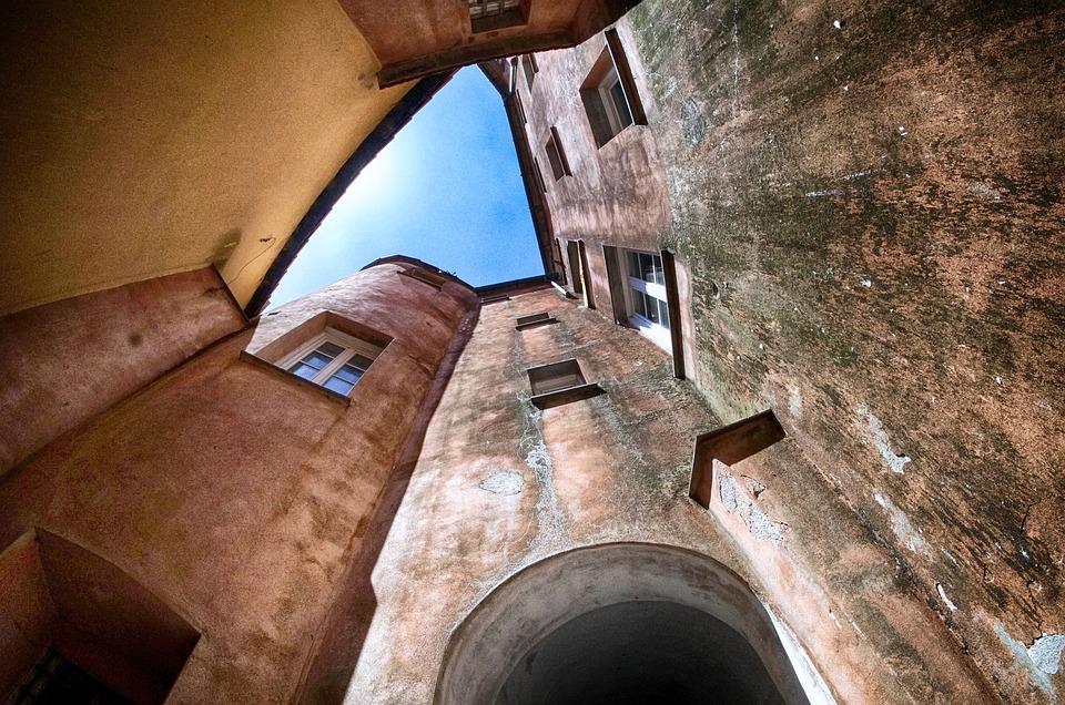 borghi - particolare di un borgo ligure - villages -detail of a Ligurian village