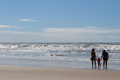 le buone abitudini - una famiglia al mare