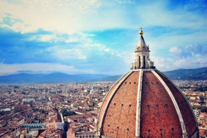 Maratona online - cupola di Firenze