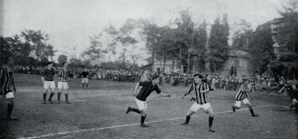 guerra - La gloriosa Inter del 1915 in campo - war - The glorious Inter in  1915