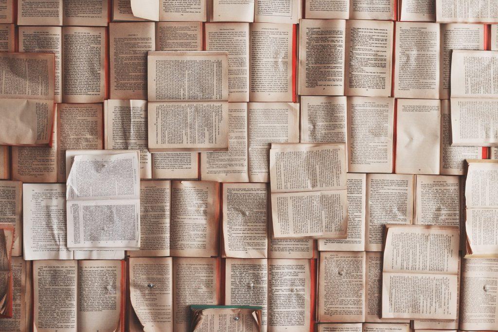 libri - tanti libri aperti uno accanto all'altro