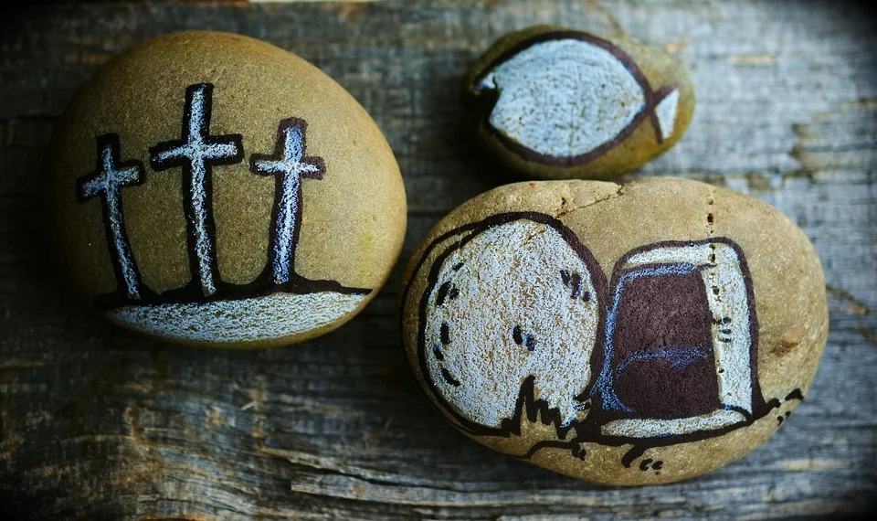 paura e simboli della pasqua - do not be afraid, symbols of Easter