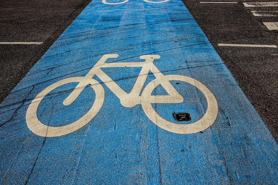 Milano - una pista ciclabile