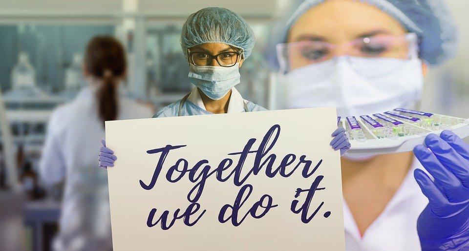 insieme si può contro la pandemia