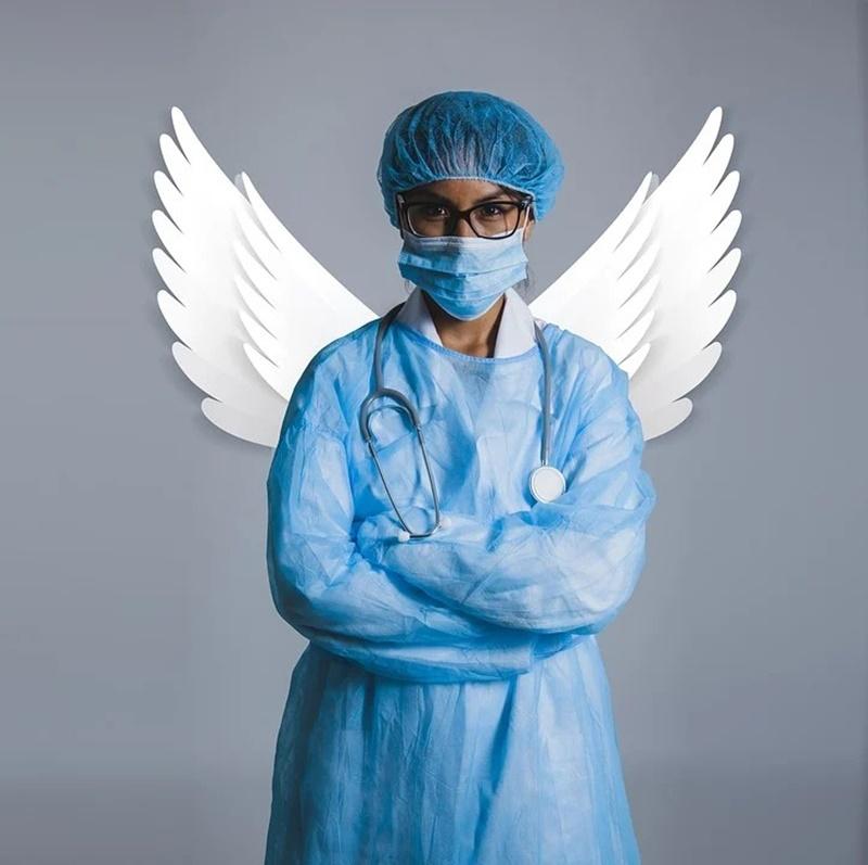 Giornata internazionale dell'infermiere - idealizzazione dell'infermiera come angelo - International Nurse Day - idealization of the nurse as an angel