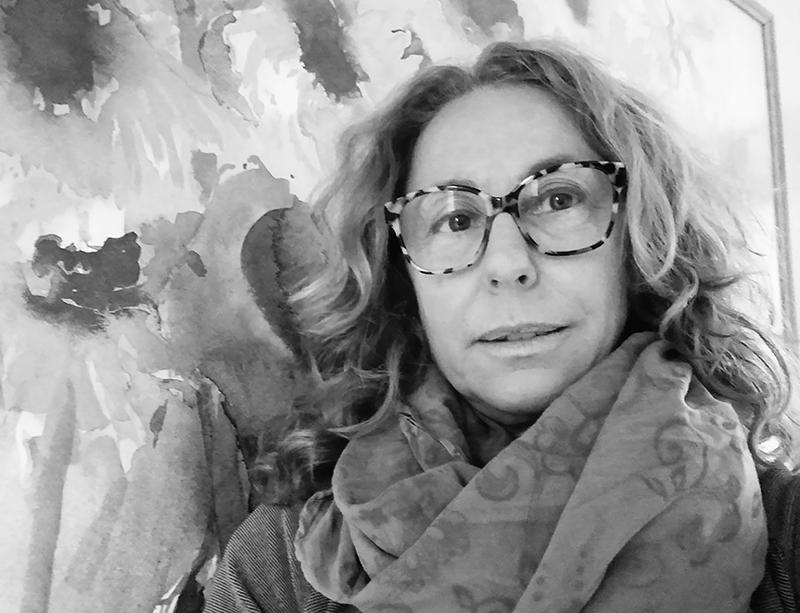 foto in bianco e nero di Roberta