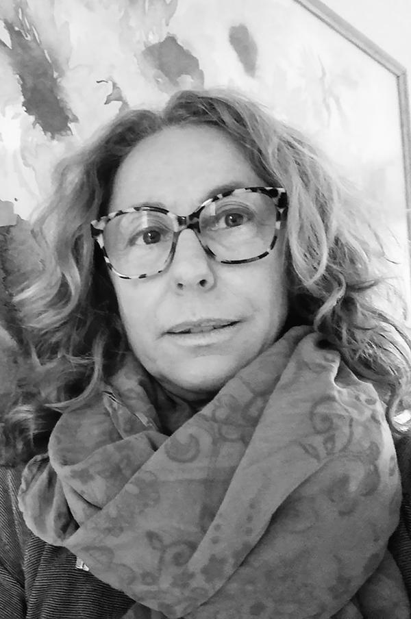 foto in bianco e nero di Roberta - black and white photo of Roberta