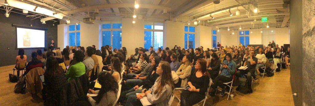 Silvio Sangineto durante una lezione a San Francisco