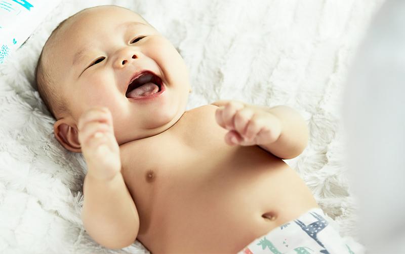 Cicciobello - un bimbo sorridente