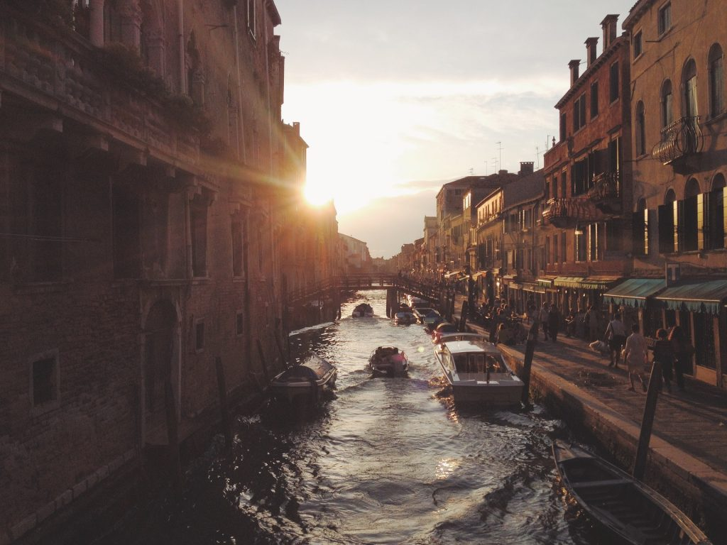 tom cruise - un canale di venezia