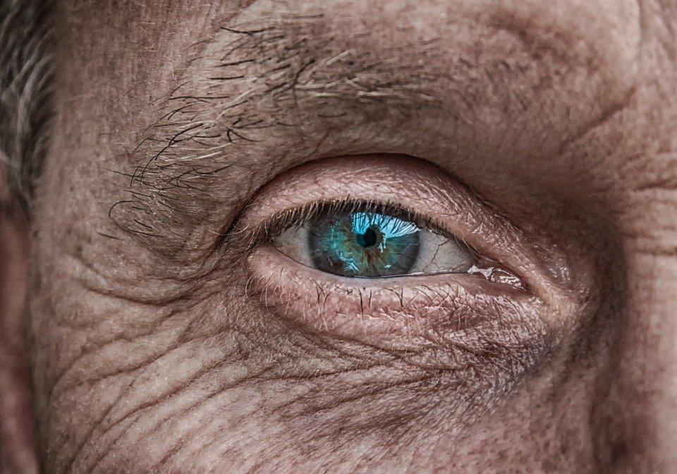 centenarie - particolare di occhio
