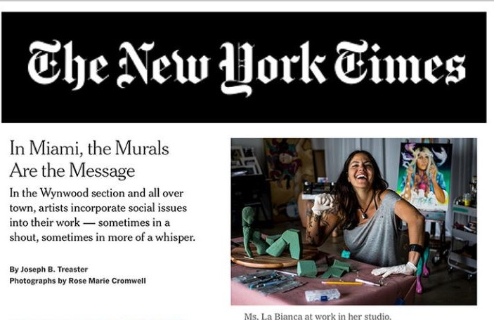 claudia - articolo del New York Times -  New York Times  article