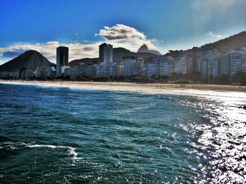 spiaggia di Copacabana - Copacabana beach