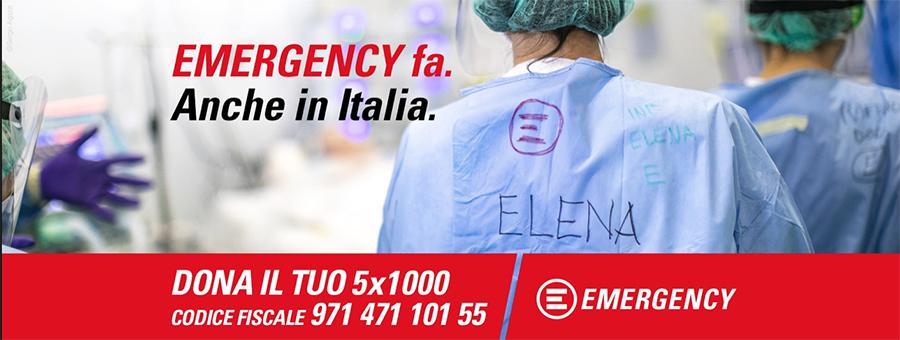 ospedale da campo - locandina emergency