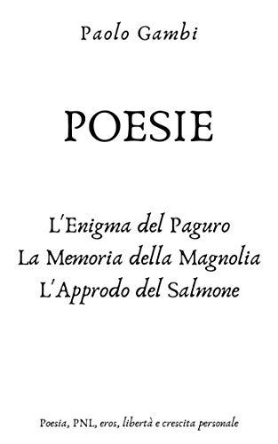 copertina del libro di poesie del poeta Paolo Gambi