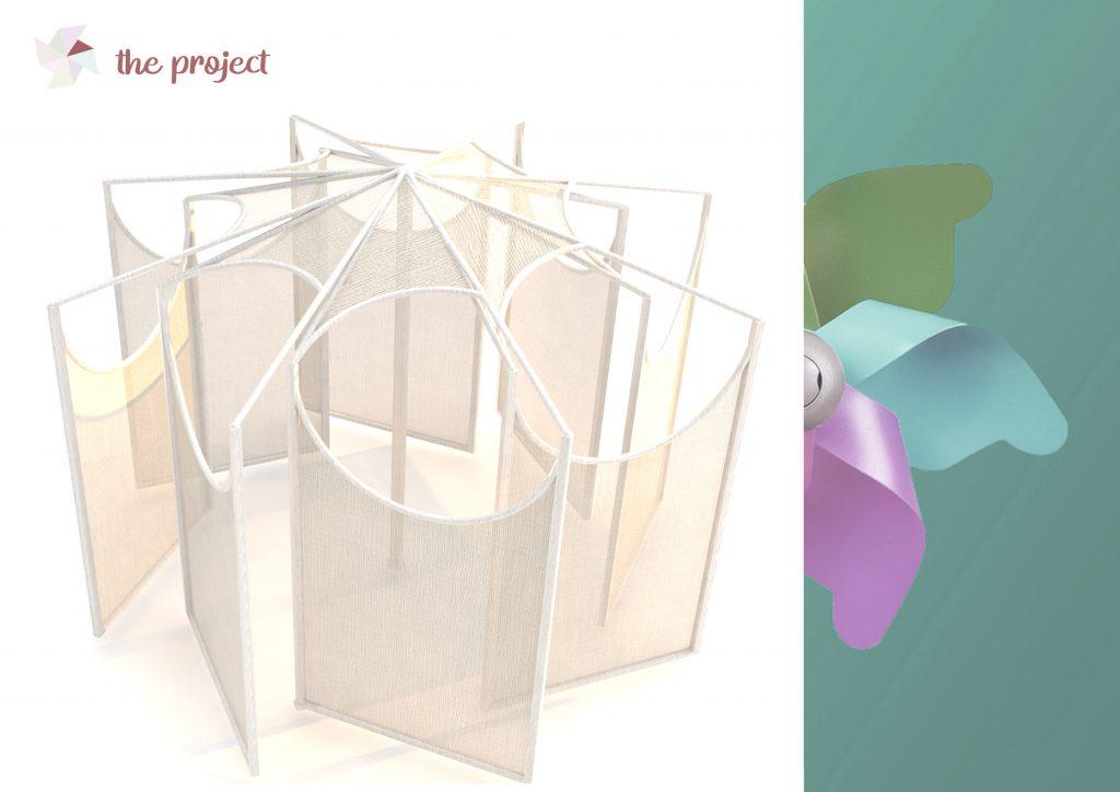 girandole - progetto da Cristina Fera - Pinwheel: Cristina Fera's project