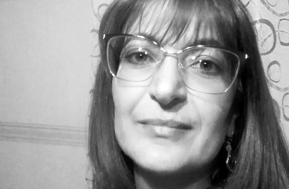 primo piano in bianco e nero di Luciana Gallo