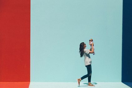 Cicciobello - una mamma con bimbo
